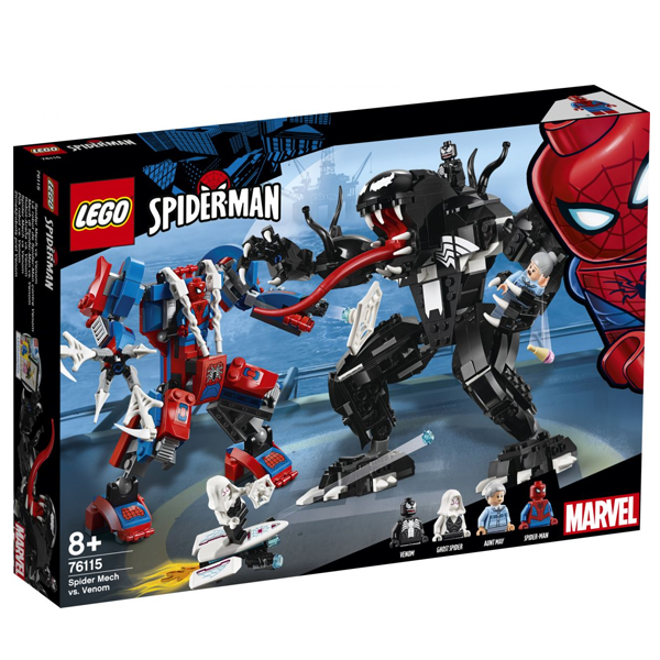 Конструктор Lego Человек-паук против Венома Super Heroes 76115