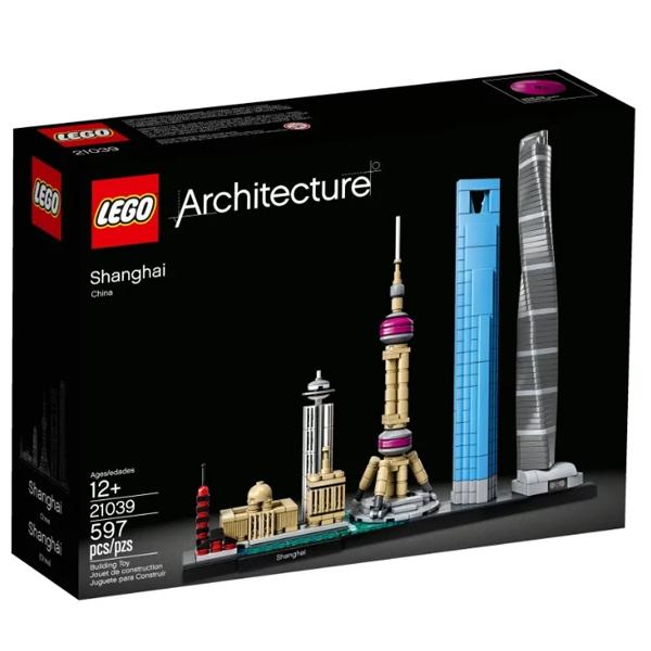 Конструктор Lego Шанхай Architecture 21039