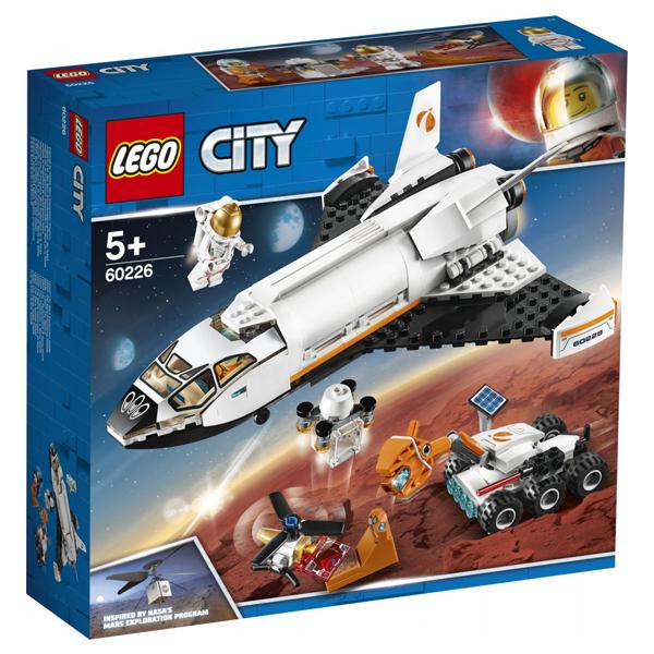 Конструктор Lego Шаттл для исследований Марса City 60226