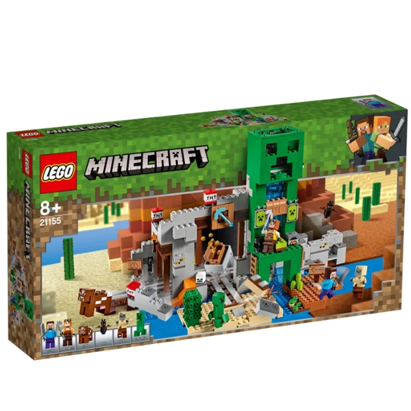 Конструктор Lego Шахта крипера Minecraft 21155
