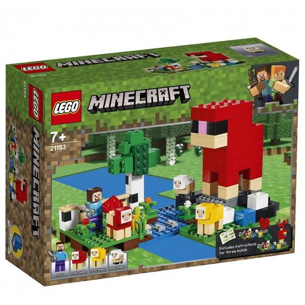 Конструктор Lego Шерстяная ферма Minecraft 21153