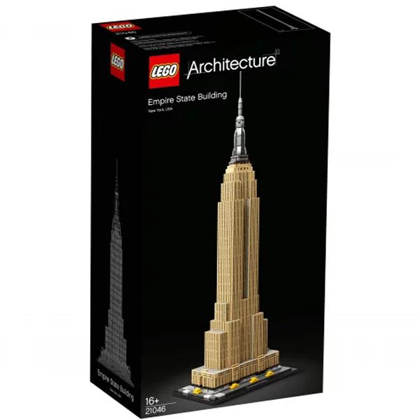 Конструктор Lego Эмпайр стейт билдинг Architecture 21046