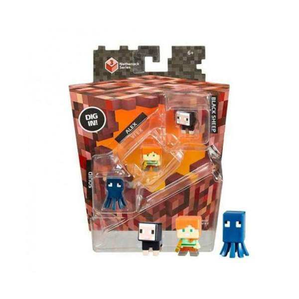 Минифигурки Minecraft Mattel Alex Black Sheep