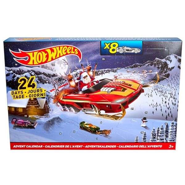 """Подарочный набор """"В преддверии Нового года"""" Hot Wheels DMH53"""