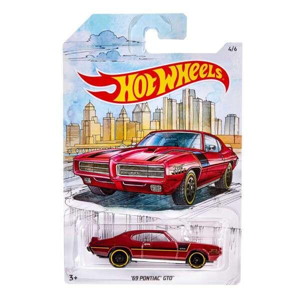 Коллекционная машинка Hot Wheels FYY11