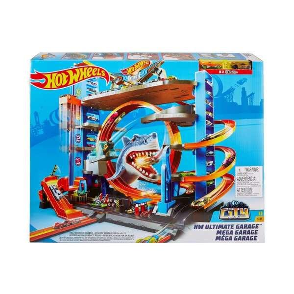 "Игровой набор ""Легендарный гараж с акулой"" Hot Wheels FTB69"