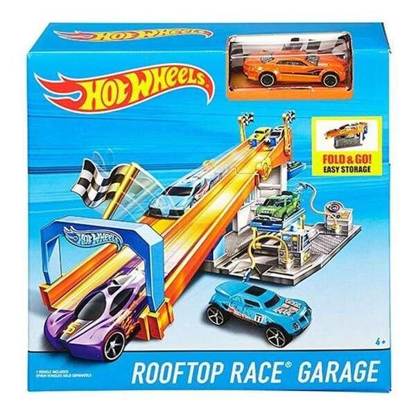 "Трек Hot Wheels ""Гонка на крыше"" DRB29"