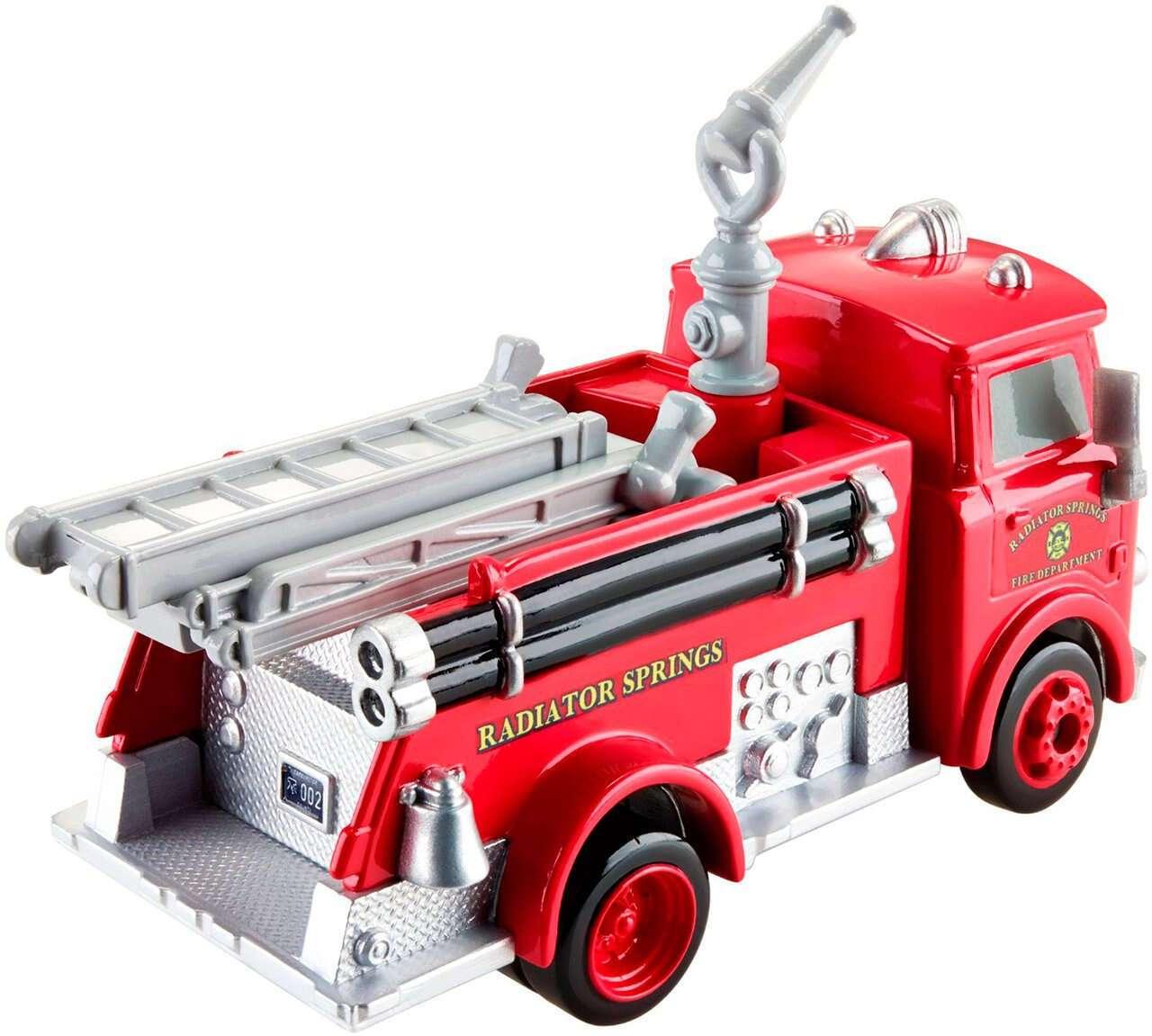 Пожарная машина Red Cars DKV37