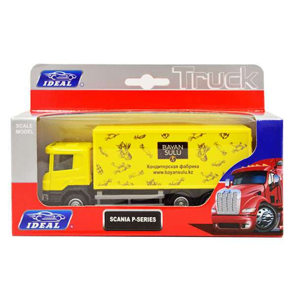 Коллекционно игровые модели машин грузовики Ideal серия 4