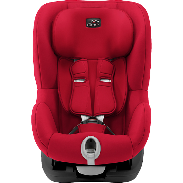 Автокресло Britax Roemer King II Black Series Fire Red Trendline (9-18кг) 12м+