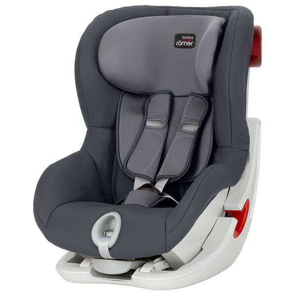 Автокресло Britax Roemer King II Black Series Storm Grey Trendline (9-18кг) 12м+
