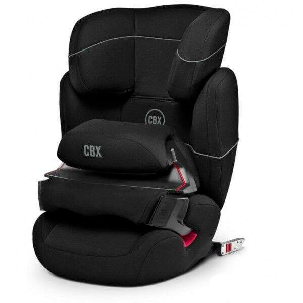 Автокресло Cybex Aura-Fix Cozy Black (9-36кг) 12+