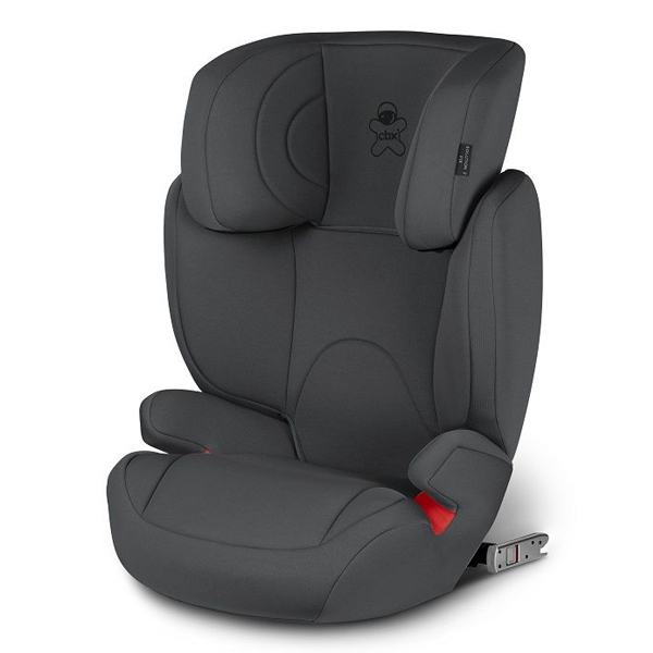 Автокресло Cybex Solution 2-Fix Comfy Grey (15-36кг) 2г+