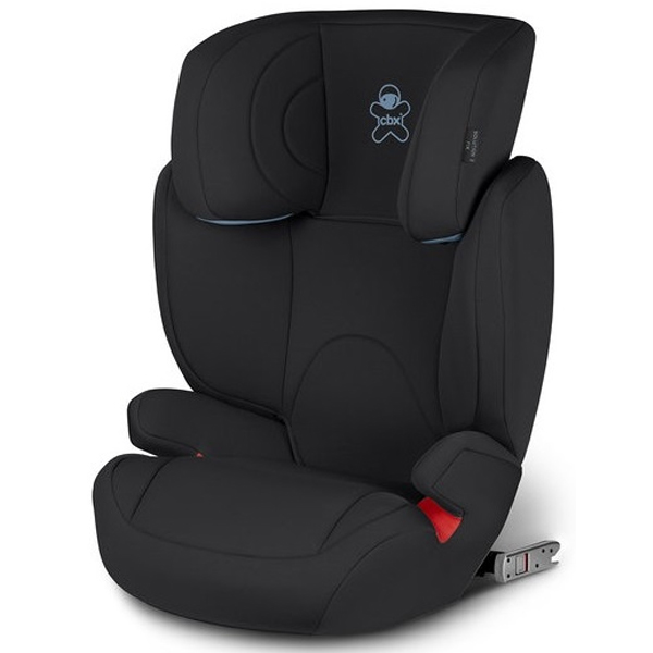 Автокресло Cybex Solution 2-Fix Cozy Black (15-36кг) 2г+