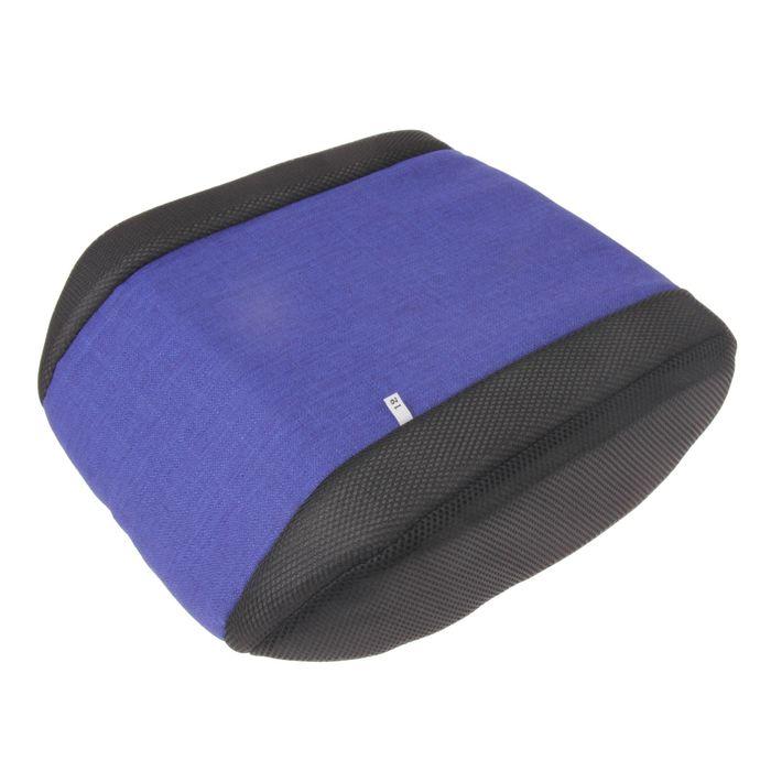 Бустер для перевозки детей в автотранспорте, группа 3, цвет синий