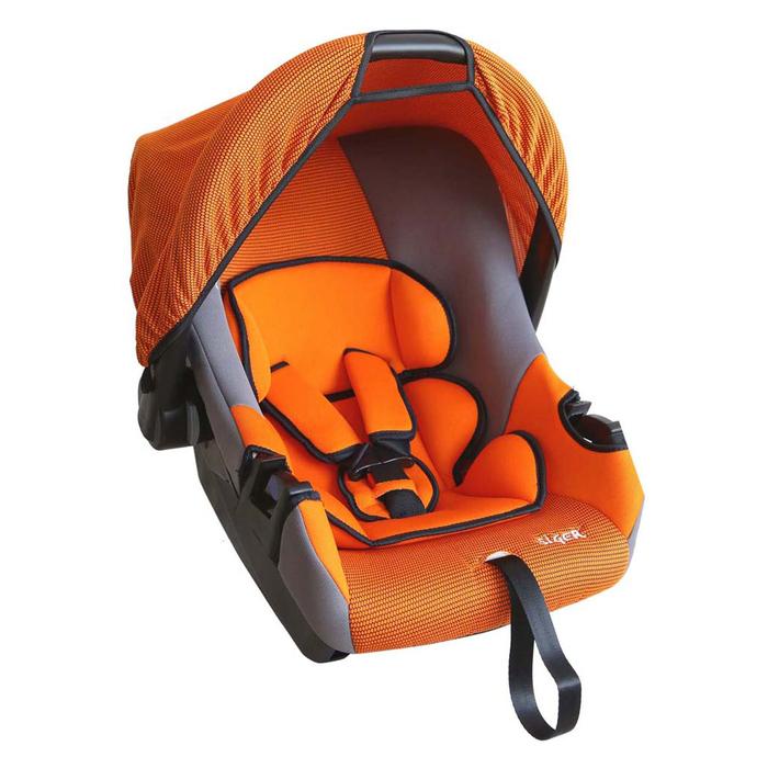 Автолюлька «Эгида Люкс», группа 0+, цвет оранжевый
