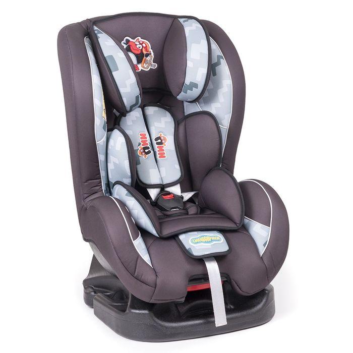 """Детское кресло """"Смешарики"""", группы 0+/1 (0-18 кг/0-4 года), полиэстер, поролон 3 см, цвет чёрный/тёмно-серый, SM/DK-200 Pin"""