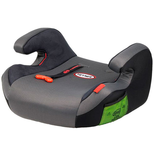 Бустер Heyner SafeUp Comfort XL группа 2-3 (15-36кг) Black