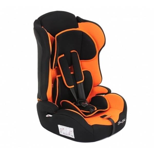 Автокресло Bambola Primo (9-36кг) 9м+ черный/оранжевый