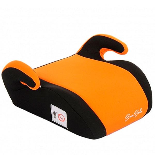 Бустер Bambola Tutela группа 3 (22-36кг) черный/оранжевый