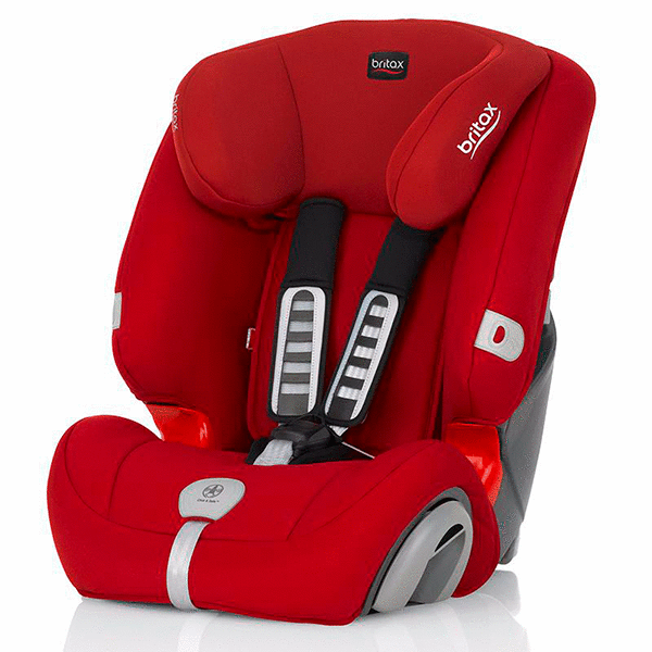 Автокресло Britax Roemer Evolva 123 Plus Flame Red (9-36кг) 9м+