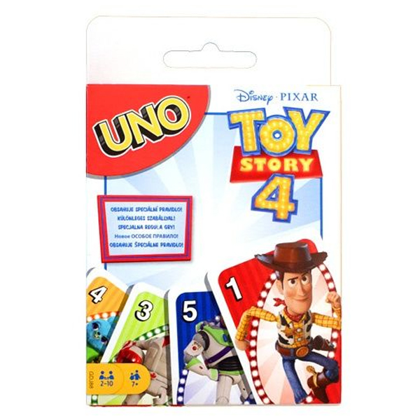 Детская настольная игра Mattel Игра настольная UNO Toy Story 4