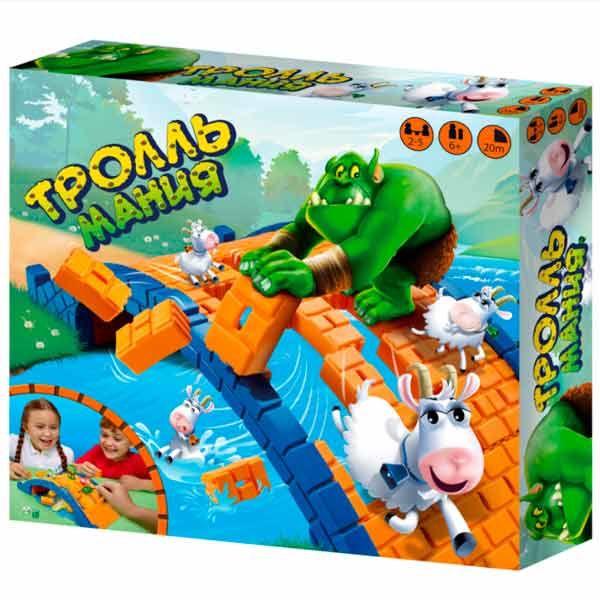 Детская настольная игра Ooba Тролль Мания