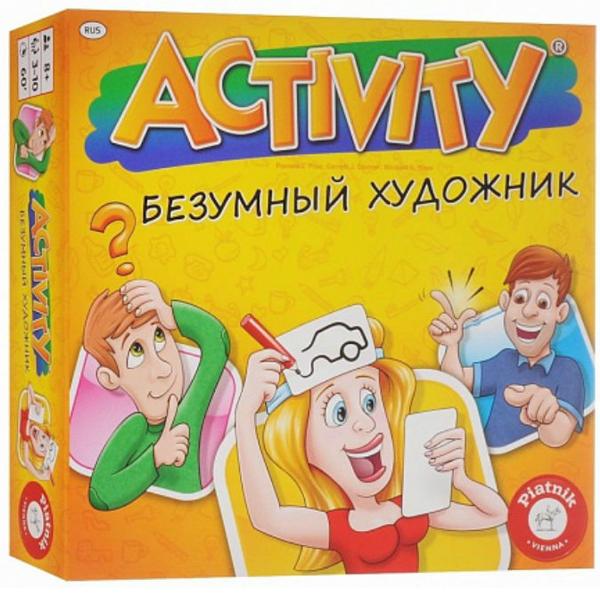 Настольная игра Piatnik Activity - Безумный художник 2