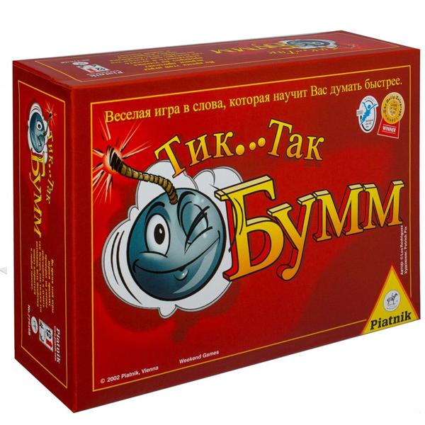Настольная игра Piatnik Тик-Так Бумм