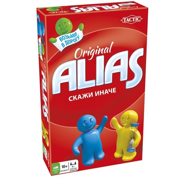 Настольная игра Alias Скажи иначе Original (Компактная)