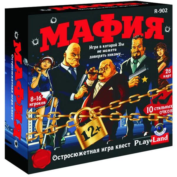 Настольная игра Play Land Мафия