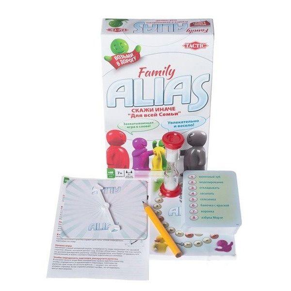 Настольная игра Alias Family 2 (Скажи иначе) компактная