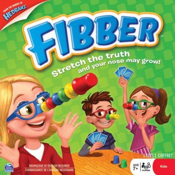 Настольная игра Spin Master Fibber