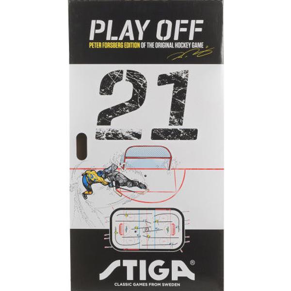 Настольная игра Stiga Хоккей Play Off 21, Швеция-Канада