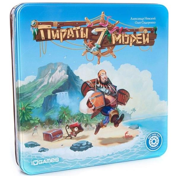 Настольная игра Stupid Casual Пираты 7 морей