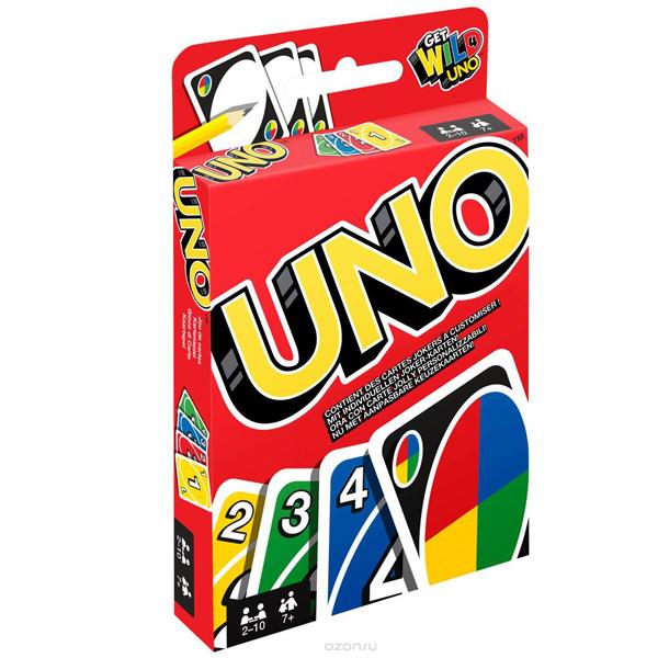 Настольная карточная игра UNO (на клипстрипе)