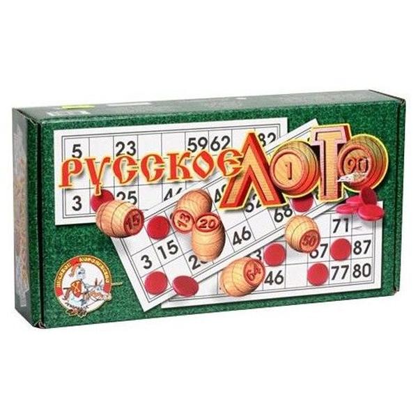 Настольная игра Десятое Королевство Русское лото в коробке
