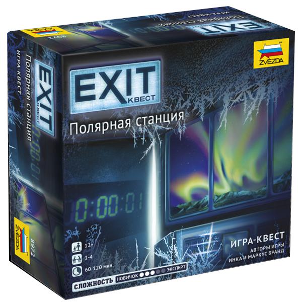 Настольная игра Звезда Exit. Полярная станция