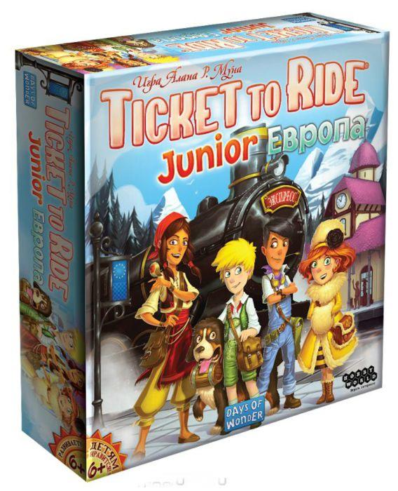 Настольная игра Мир Хобби Ticket to Ride Junior - Европа