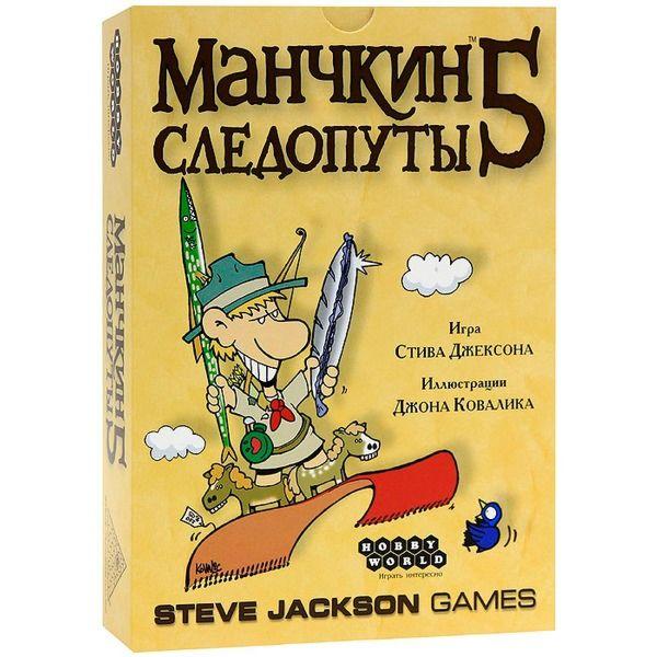Настольная игра Мир Хобби Манчкин 5. Следопуты