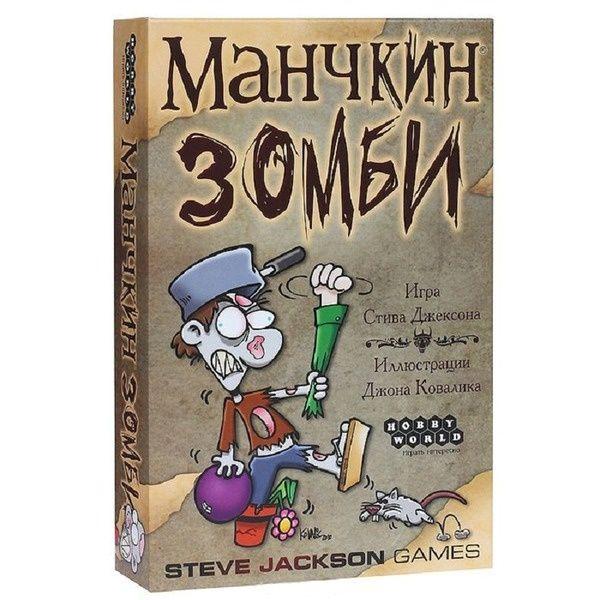 Настольная игра Мир Хобби Манчкин Зомби 2