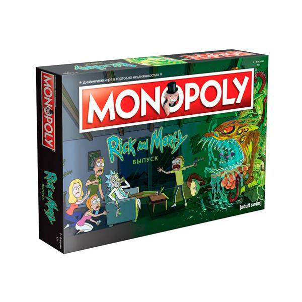 Настольная игра Мир Хобби Монополия Рик и Морти