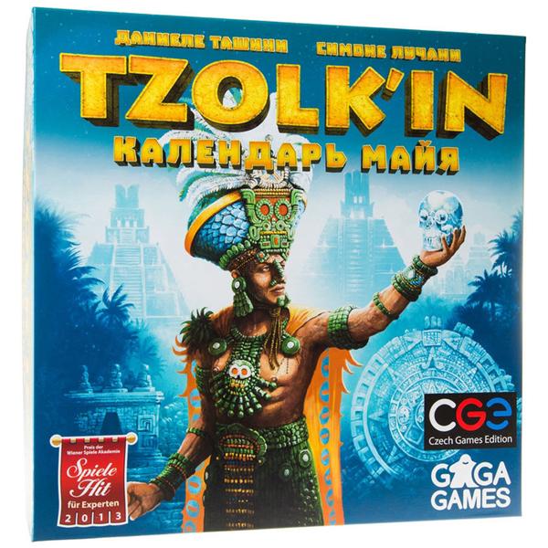 Настольная игра GaGa Цолькин. Календарь майя
