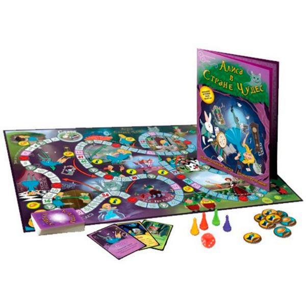 Детская настольная игра Нескучные игры Алиса в Стране чудес