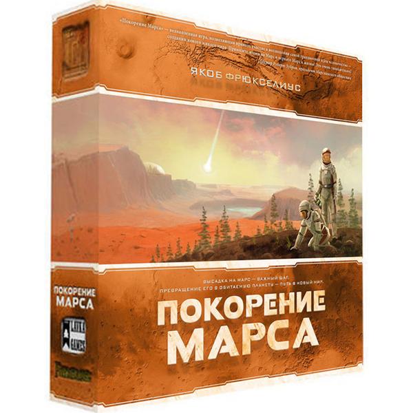 Настольная игра Нескучные игры Покорение Марса