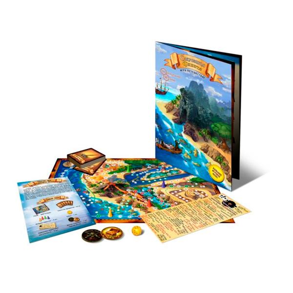 Детская настольная игра Нескучные игры Сокровища Флинта