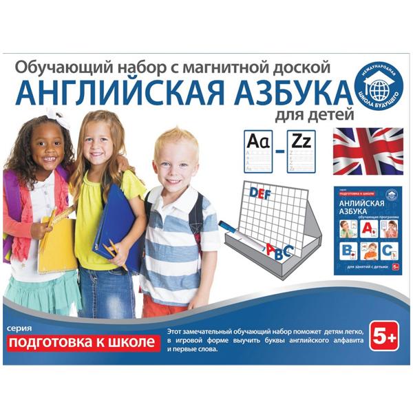 Обучающий набор Magnet LTD Английская азбука для детей