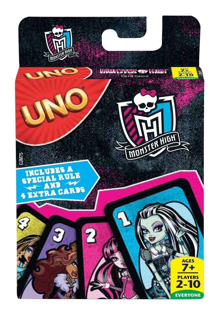 "Игра настольная UNO ""Monster High"" (CJM75)"