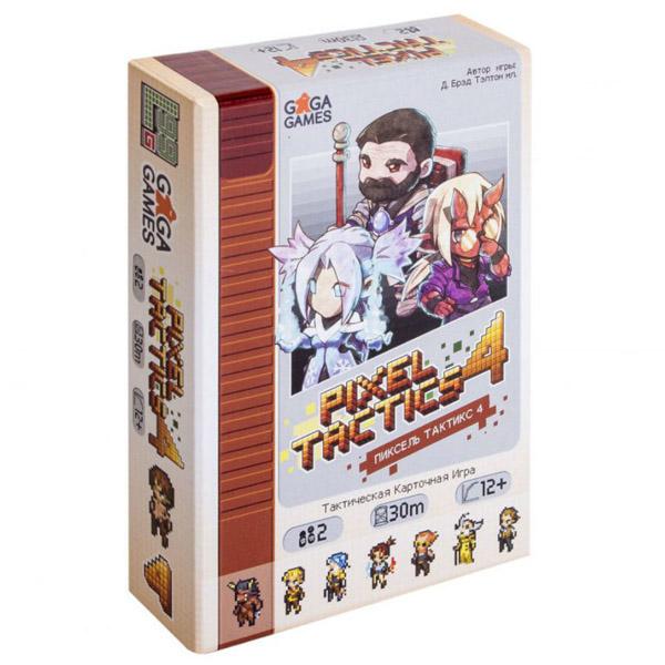Настольная игра GaGa Пиксель Тактикс 4
