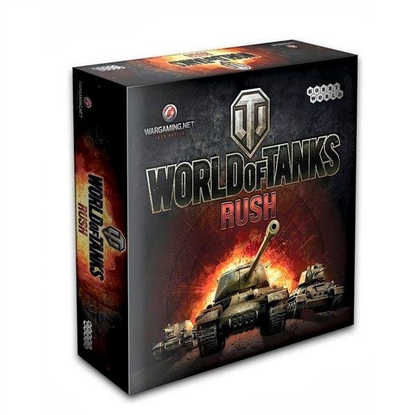 Настольная игра Мир хобби World of Tanks Rush (2-е рус. изд.)